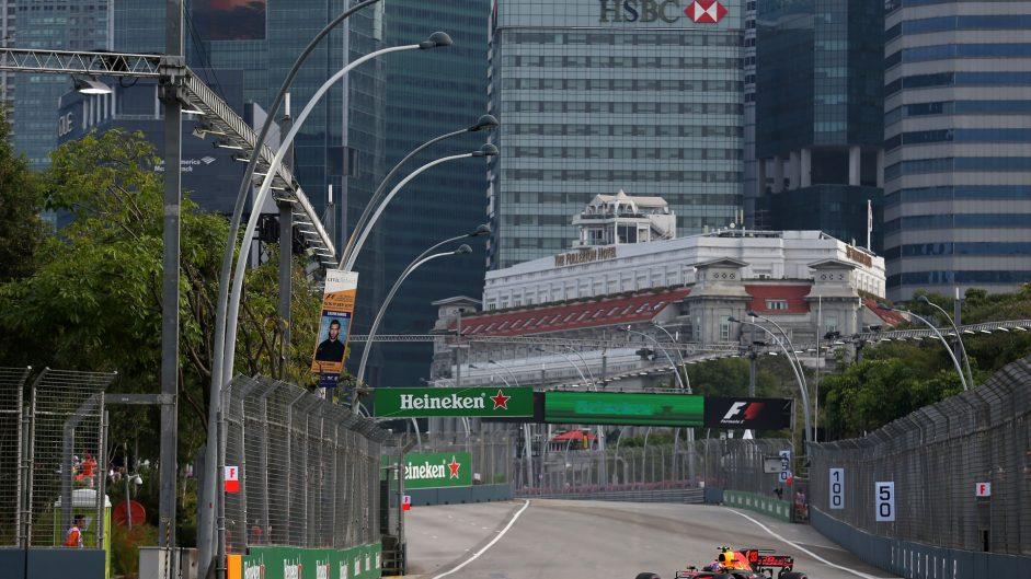 Max Verstappen, Red Bull, Singapore, 2017