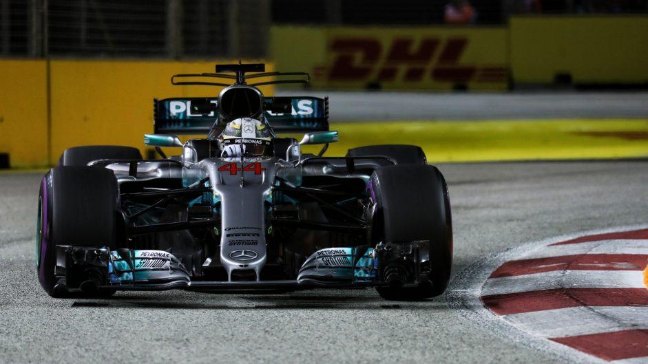Lewis Hamilton, Mercedes, Singapore, 2017
