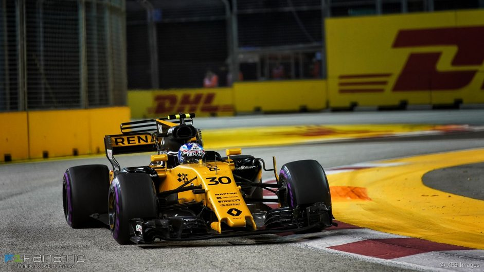 Lap time watch: Renault make huge gains in Singapore