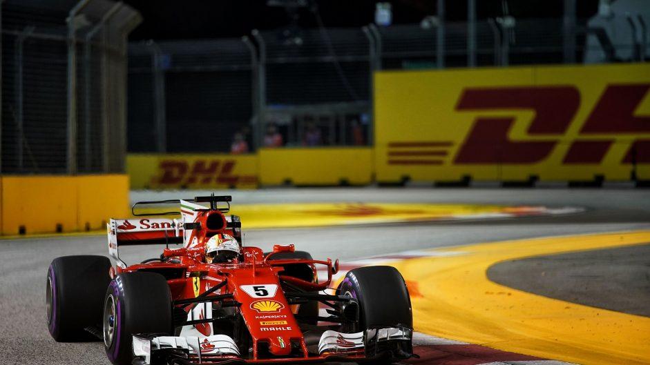 2017 Singapore Grand Prix grid