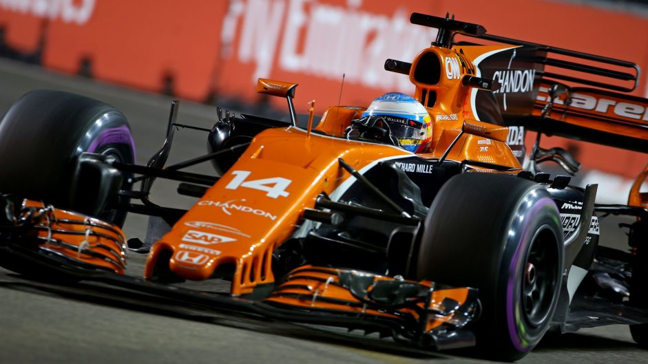 """We could be P1"": 2017 Singapore GP practice team radio highlights"