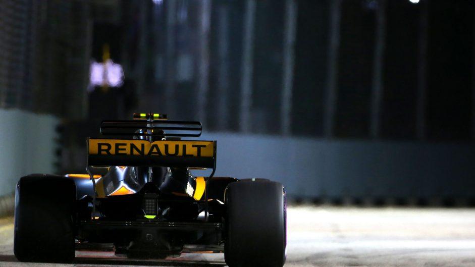 Jolyon Palmer, Renault, Singapore, 2017
