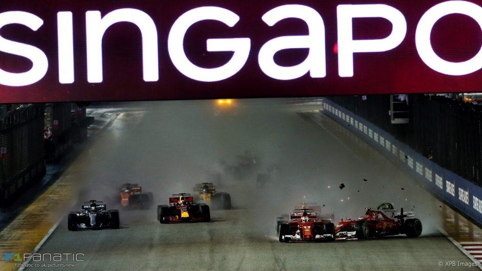 Vettel, Verstappen and Raikkonen cleared over crash