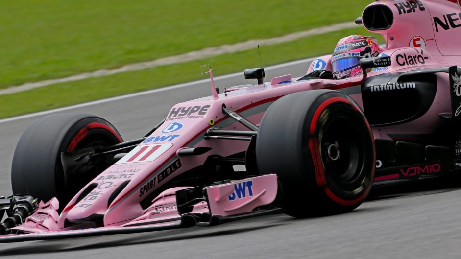 Sergio Perez, Force India, Sepang International Circuit, 2017