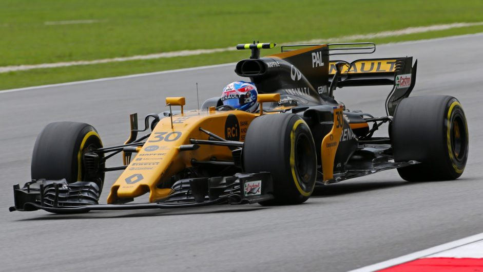 Jolyon Palmer, Renault, Sepang International Circuit, 2017