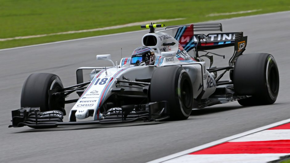 Lance Stroll, Williams, Sepang International Circuit, 2017