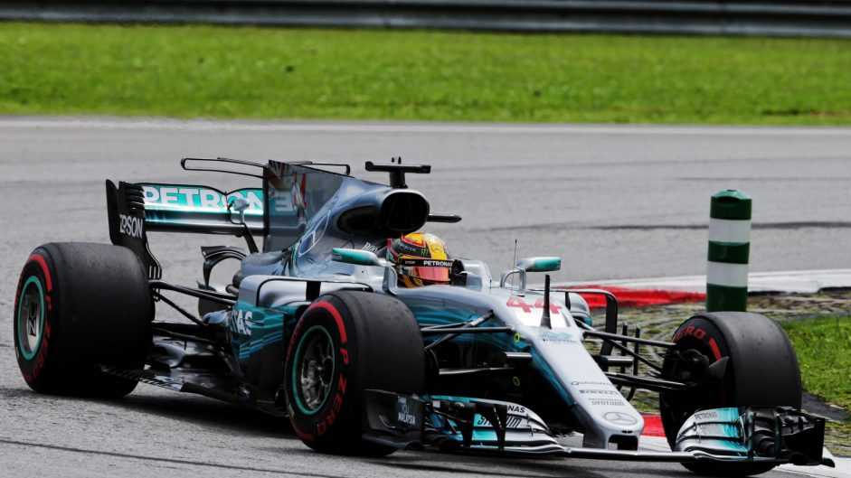 2017 Malaysian Grand Prix grid