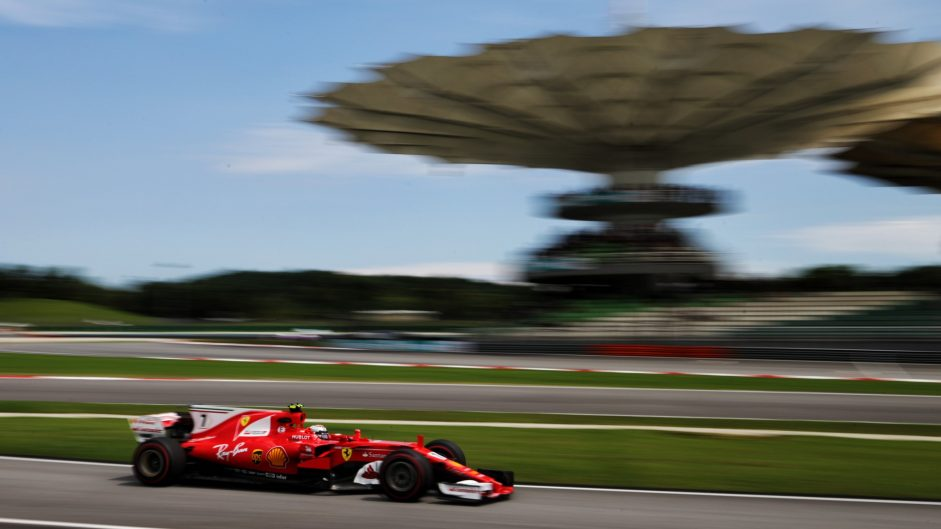 Kimi Raikkonen, Ferrari, Sepang International Circuit, 2017