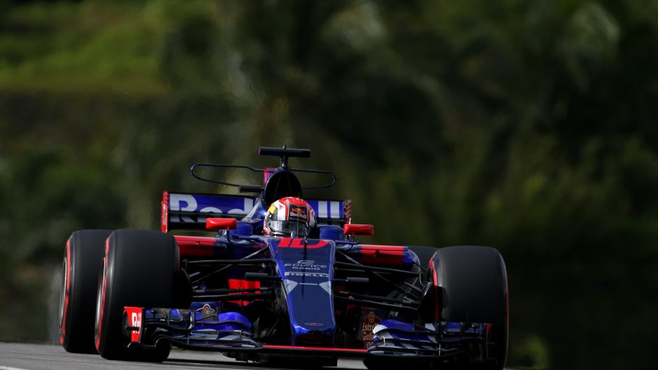 Pierre Gasly, Toro Rosso, Sepang International Circuit, 2017