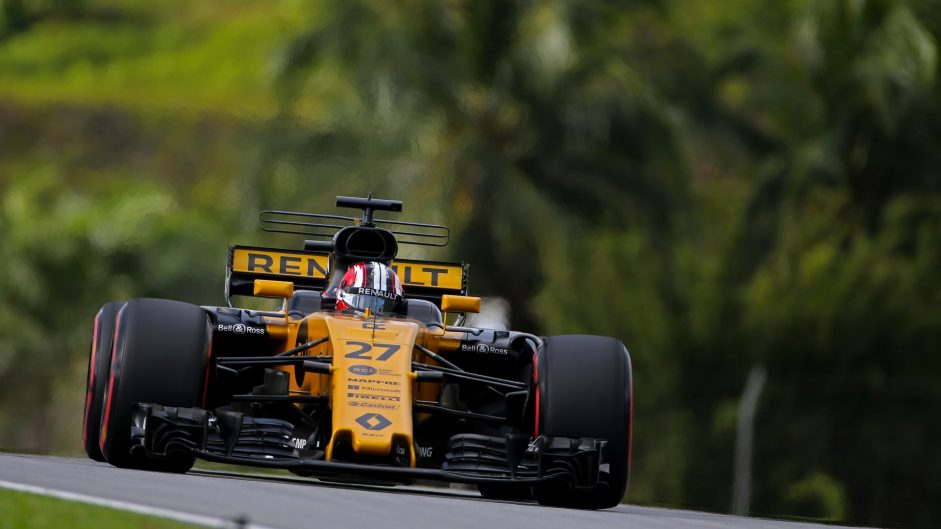 Nico Hulkenberg, Renault, Sepang International Circuit, 2017