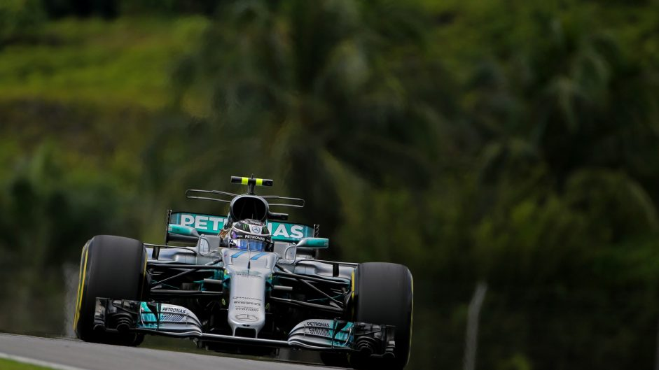 Valtteri Bottas, Mercedes, Sepang International Circuit, 2017