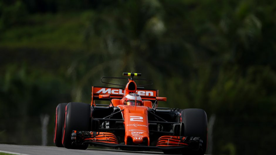 Stoffel Vandoorne, McLaren, Sepang International Circuit, 2017