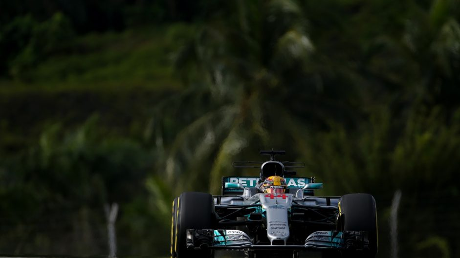 Lewis Hamilton, Mercedes, Sepang International Circuit, 2017