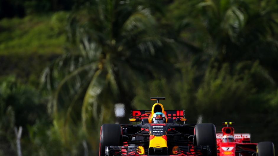 Daniel Ricciardo, Red Bull, Sepang International Circuit, 2017
