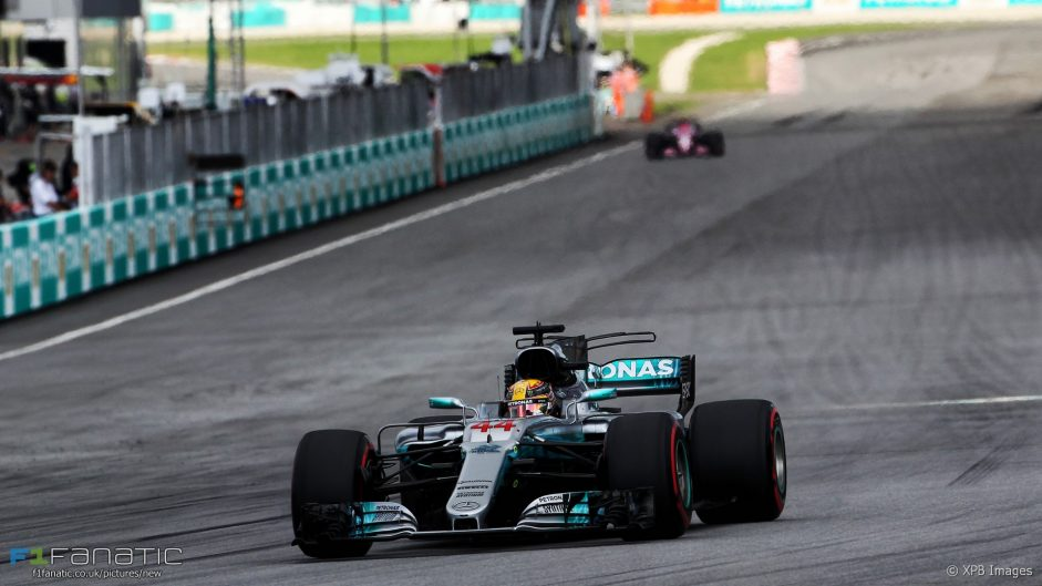 """Mercedes """"got lucky"""" in Malaysia, says Wolff"""