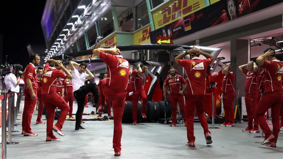 Ferrari, Singapore, 2017
