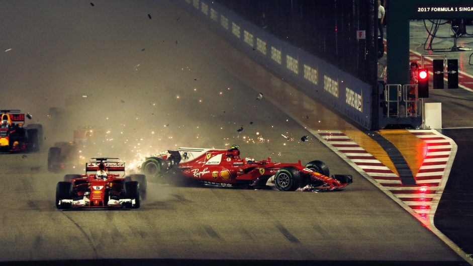 Ferrari suffer their first ever double lap one retirement