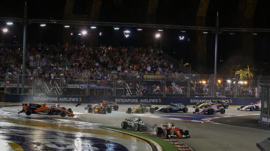 2017 Singapore Grand Prix in pictures