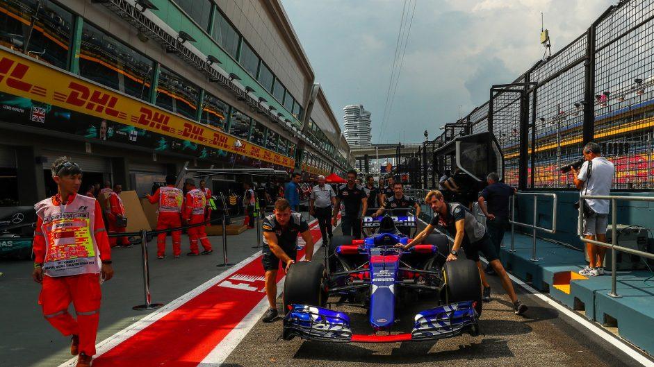 Toro Rosso STR12, Singapore, 2017