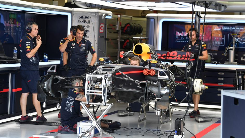 Red Bull RB13, Singapore, 2017