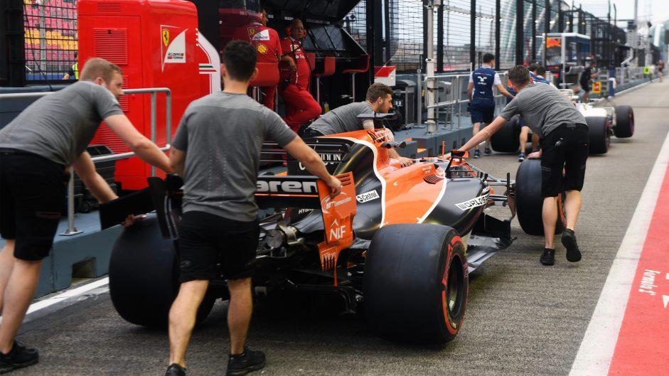 McLaren MCL32, Singapore, 2017