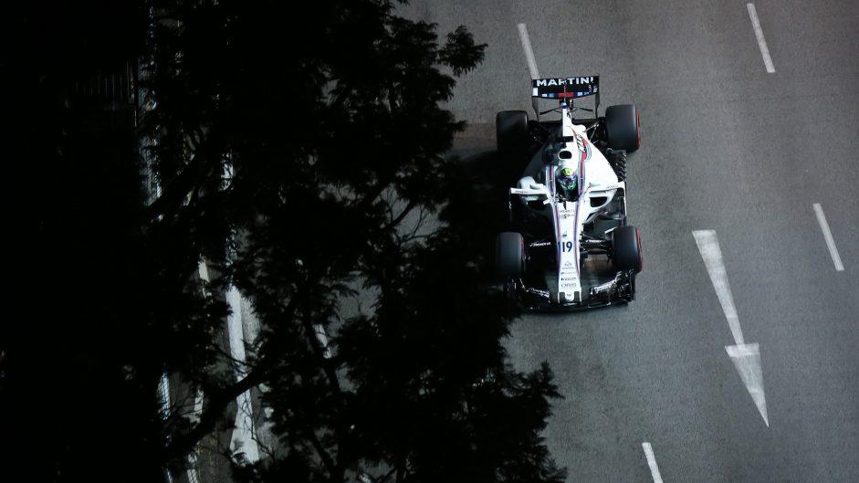 Felipe Massa, Williams, Singapore, 2017