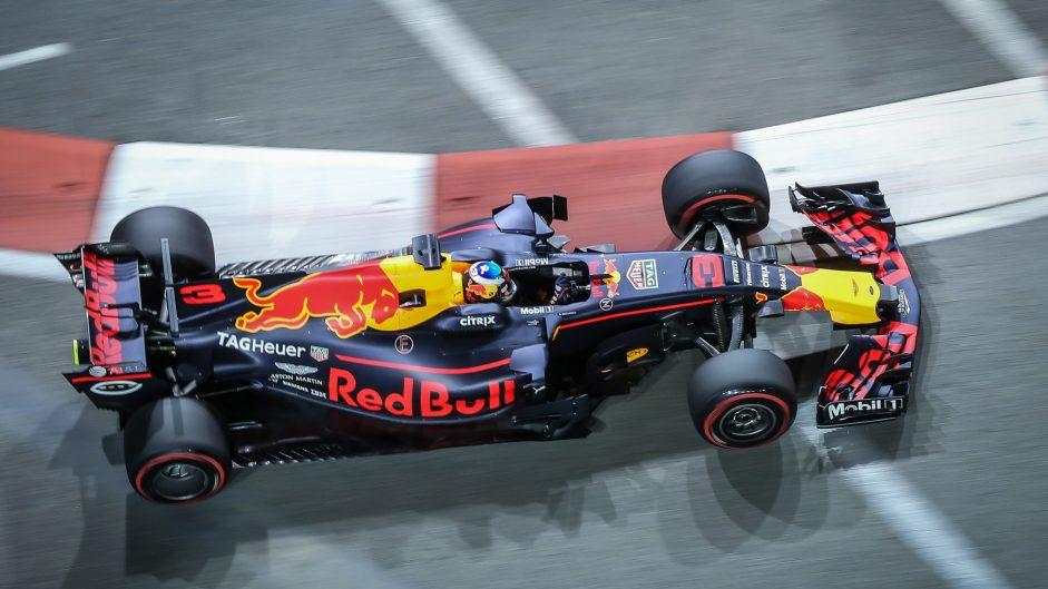 Daniel Ricciardo, Red Bull, Singapore, 2017
