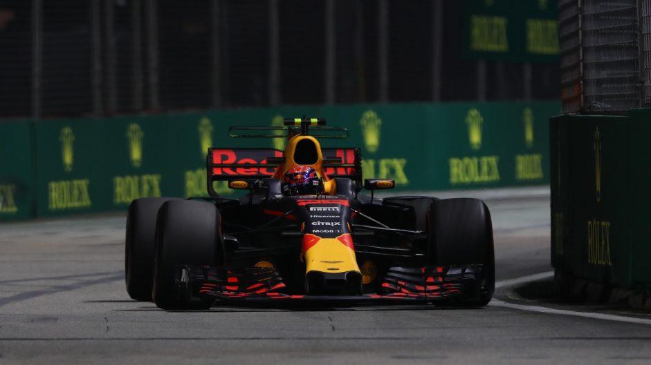 Verstappen tops final Singapore practice