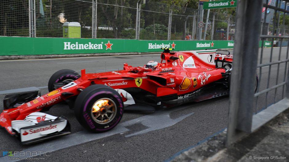 2017 Singapore Grand Prix practice in pictures