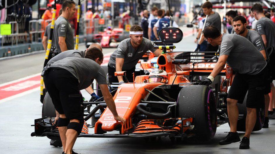 Stoffel Vandoorne, McLaren, Singapore, 2017