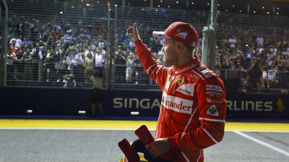 Vettel expects close battle with Red Bull after 'unbelievable' pole