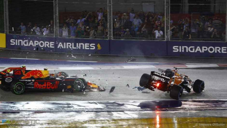 Wet standing start not to blame for crash – drivers