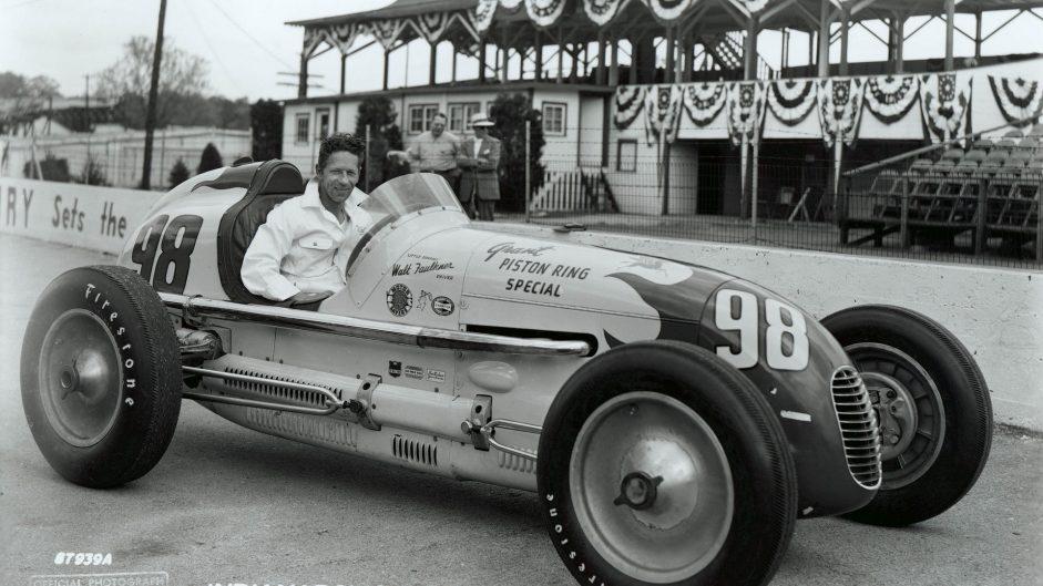 Walt Faulkner, Grant Piston Ring Special, Indianapolis, 1950