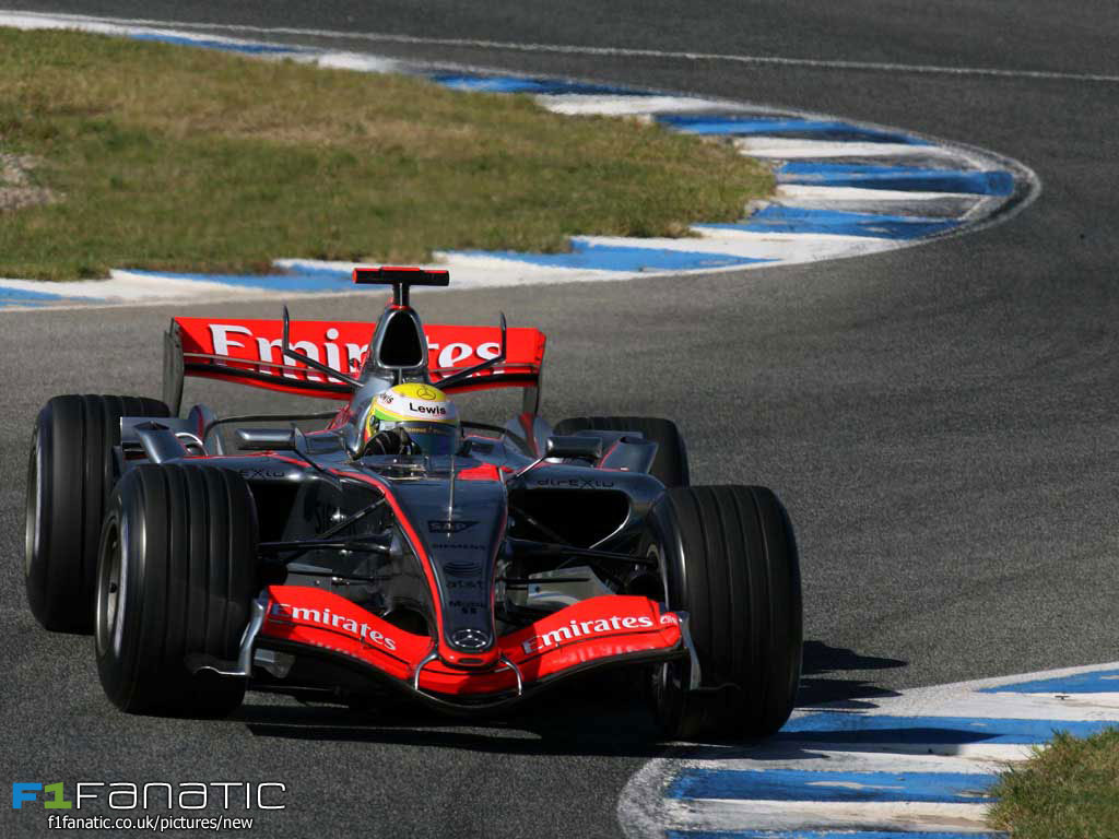 Lewis Hamilton, McLaren, Jerez, 2006