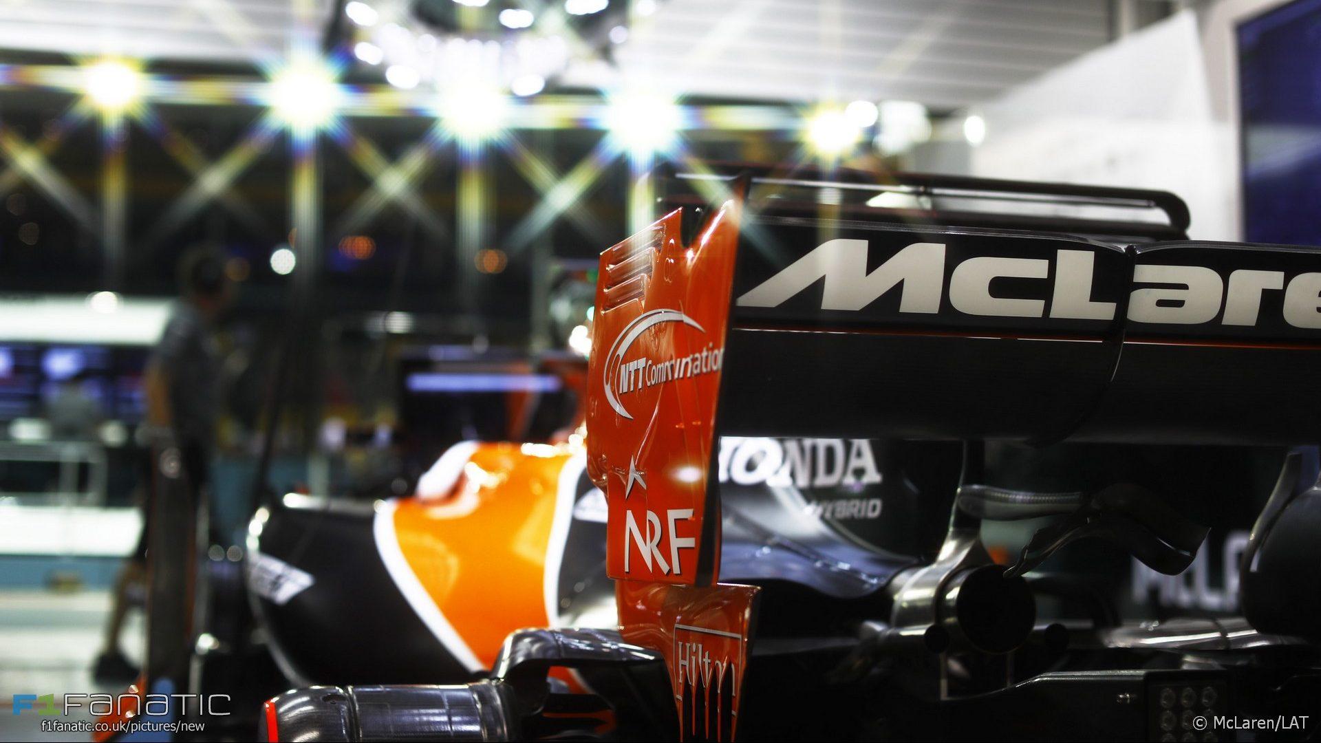 McLaren, Singapore, 2017
