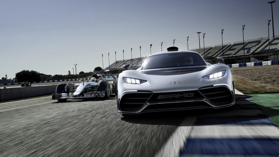 Mercedes reveals the world's first 'F1 road car': the Mercedes-AMG Project One