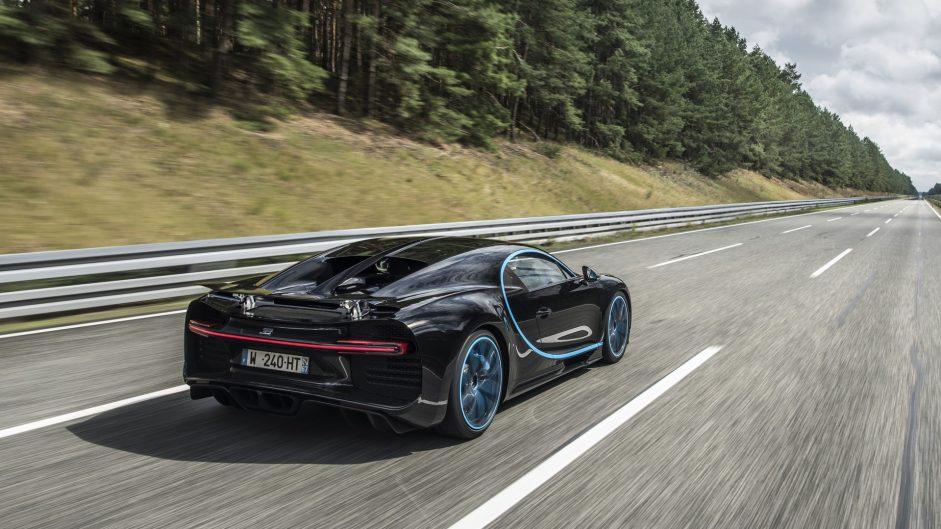 Bugatti Chiron, 2017