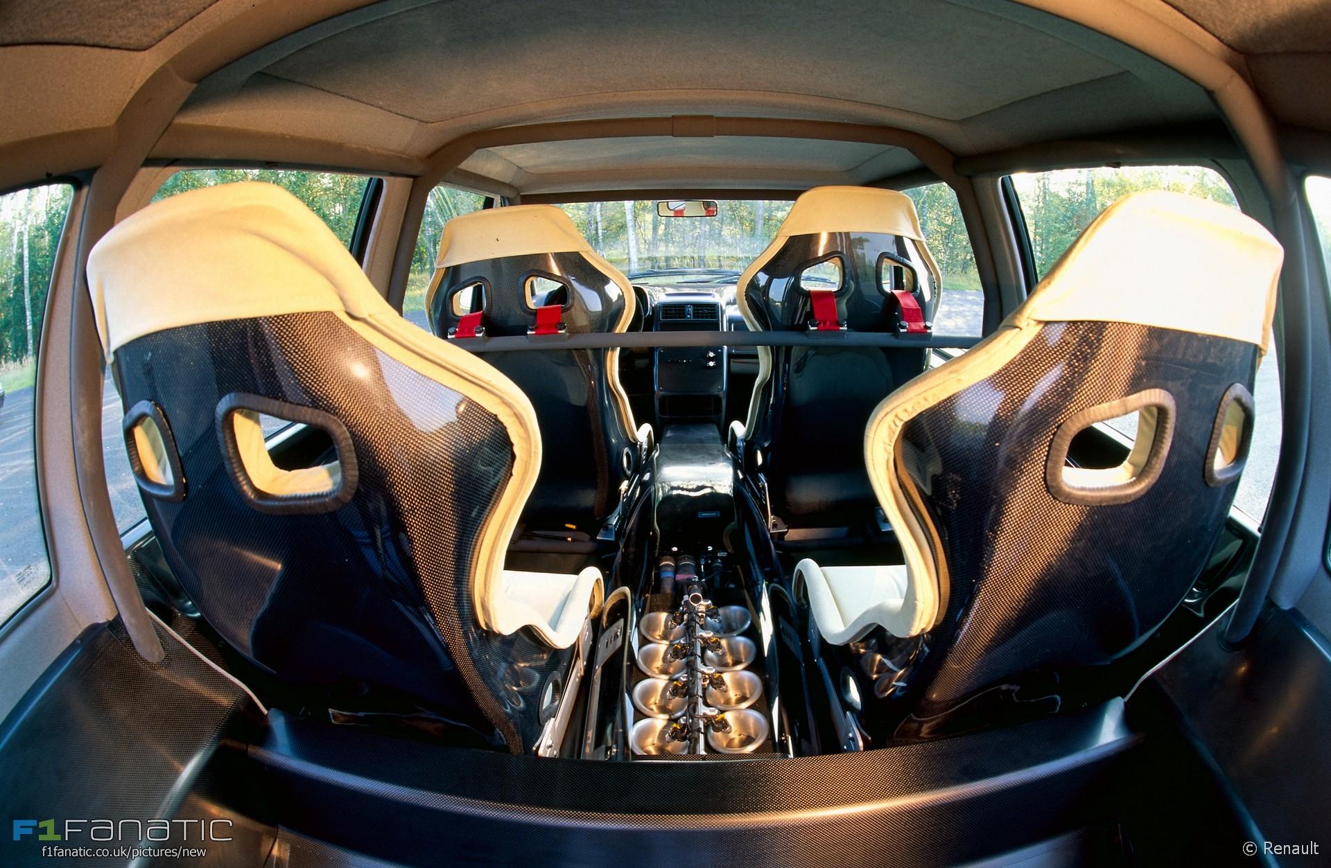 renault espace f1 interior 1994 racefans. Black Bedroom Furniture Sets. Home Design Ideas