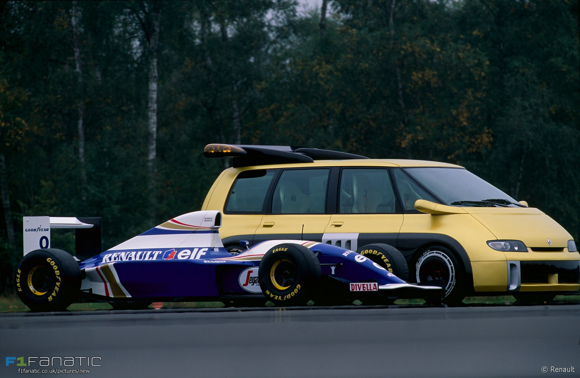 williams fw16 renault espace f1 1994 racefans. Black Bedroom Furniture Sets. Home Design Ideas