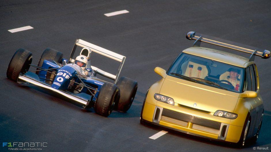 Williams FW16, Renault Espace F1, 1994