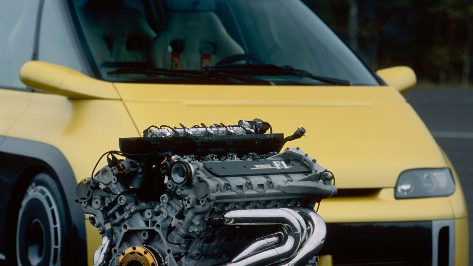 Renault Espace F1, Renault RS6 engine, 1994
