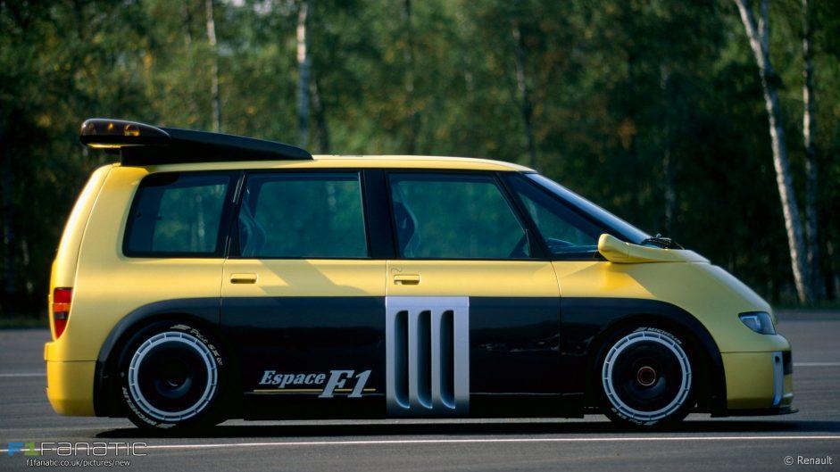 Renault Espace F1 side, 1994