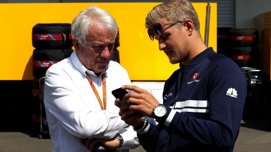 Charlie Whiting, Marcus Ericsson, Autodromo Hermanos Rodriguez, 2017