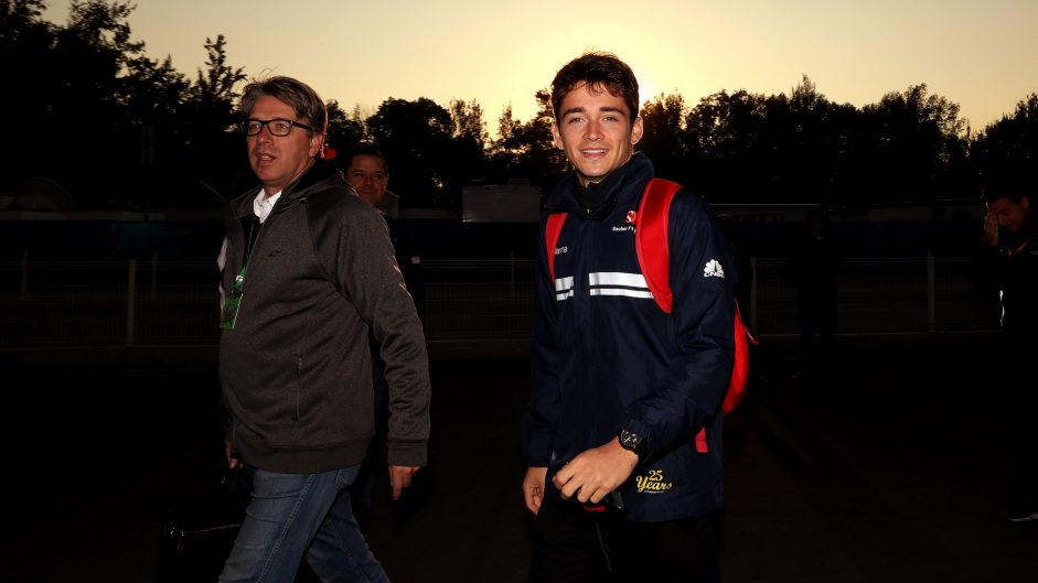 Charles Leclerc, Sauber, Autodromo Hermanos Rodriguez, 2017