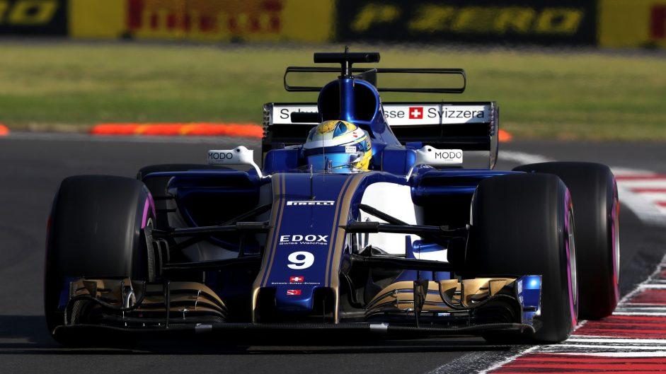 Marcus Ericsson, Sauber, Autodromo Hermanos Rodriguez, 2017