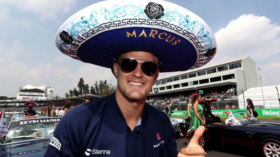 Marcus ericsson sauber autodromo hermanos rodriguez for Puerta 2 autodromo hermanos rodriguez
