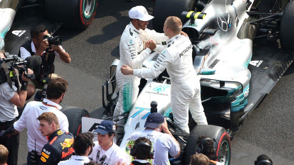 Lewis Hamilton, Valtteri Bottas, Mercedes, Autodromo Hermanos Rodriguez, 2017