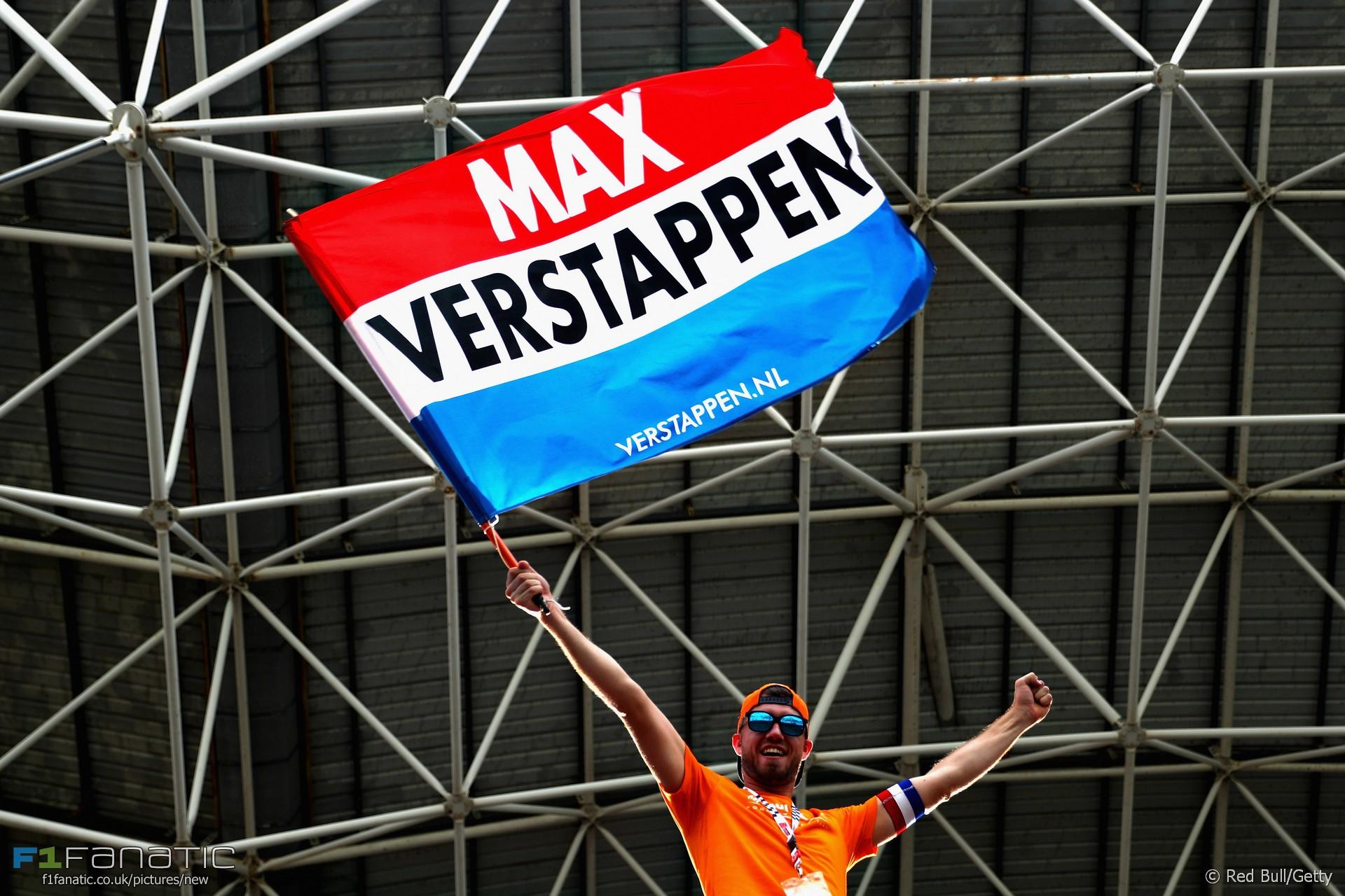 Max Verstappen fan, Red Bull, Sepang International Circuit, 2017