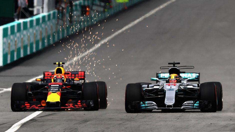 Top ten pictures from the 2017 Malaysian Grand Prix