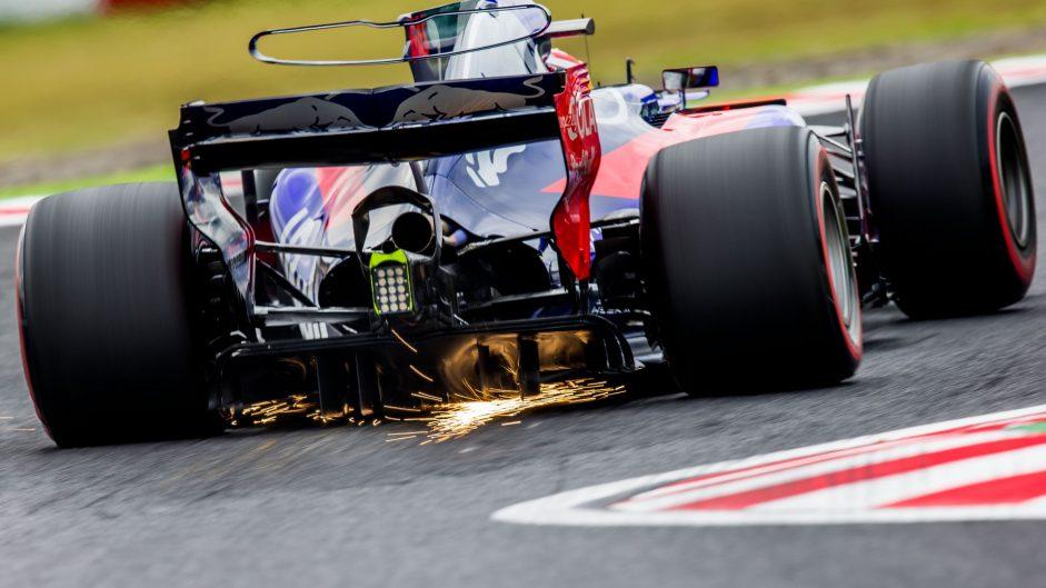 Pierre Gasly, Toro Rosso, Suzuka, 2017